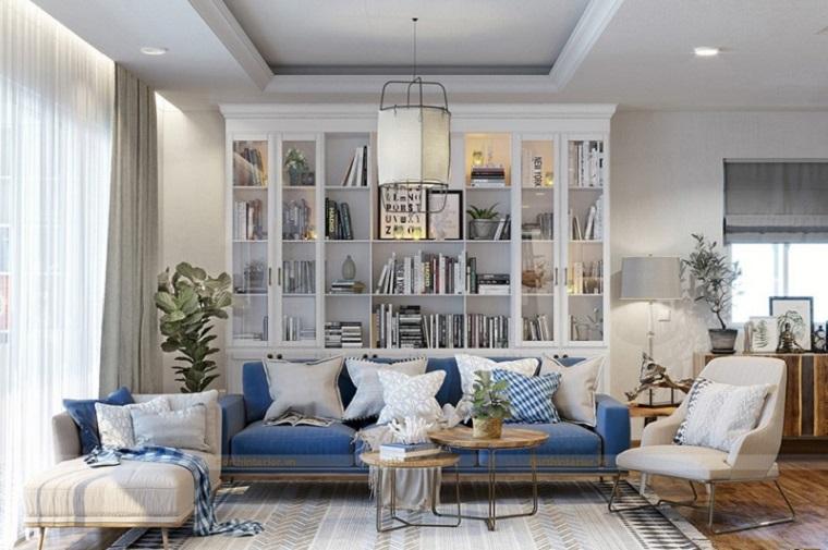 Thiết kế không gian nhà cùng ghế sofa góc yêu thích của bạn