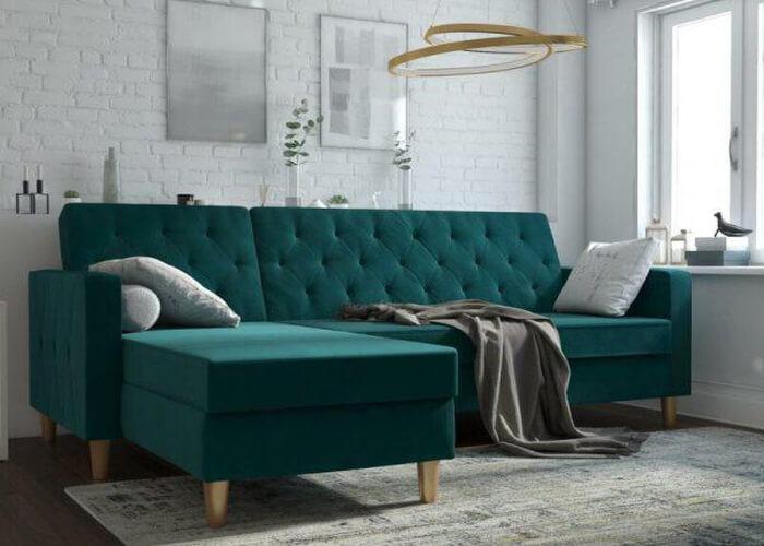 Thiết kế không gian nhà nhỏ cùng ghế sofa góc bạn yêu thích