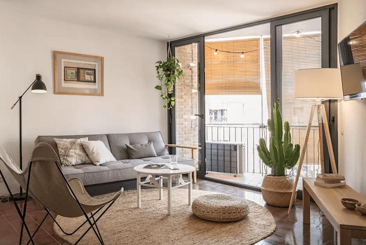 Thiết kế phòng khách theo phong cách Rustic