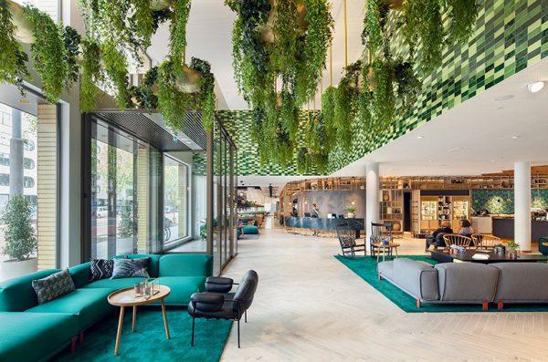Thiết kế văn phòng theo phong cách Eco thân thiện
