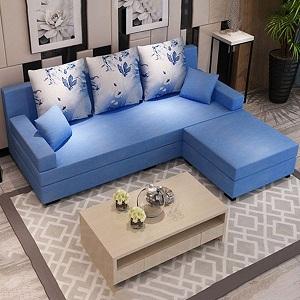 Tông màu kết hợp với nội thất phòng khách