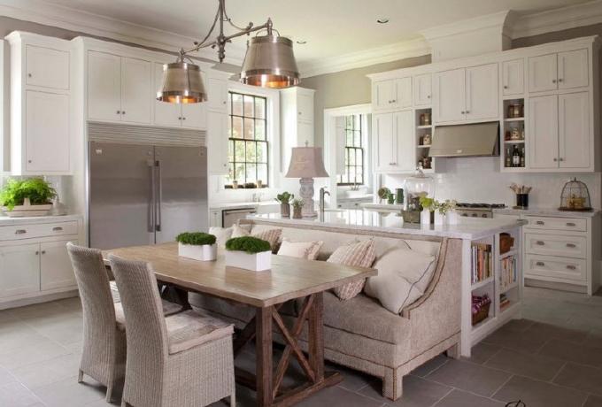 Top mẫu sofa bếp hiện đại đón đầu xu hướng