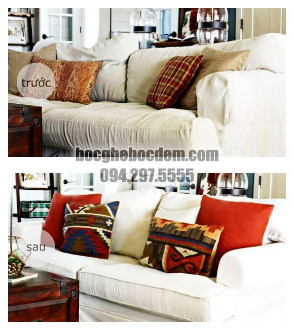 Trang Trí Nhà Chuẩn Sắc, Đón Hè Mát Mẻ - Dịch Vụ Bọc Ghế Sofa Góc Tại Nhà Quận Ba Đình