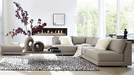 Xu Hướng Ghế Sofa Nhiều Khối Trở Lại Cho Căn Phòng Khách Hiện Đại