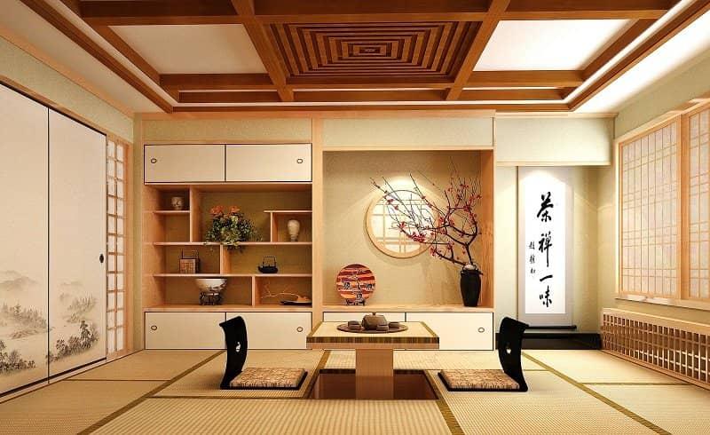 Xu hướng ghế ngồi bệt Nhật Bản